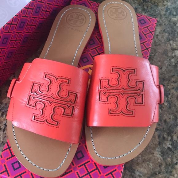 327a81609994f4 Authentic Tory Burch Slide Sandals boutique